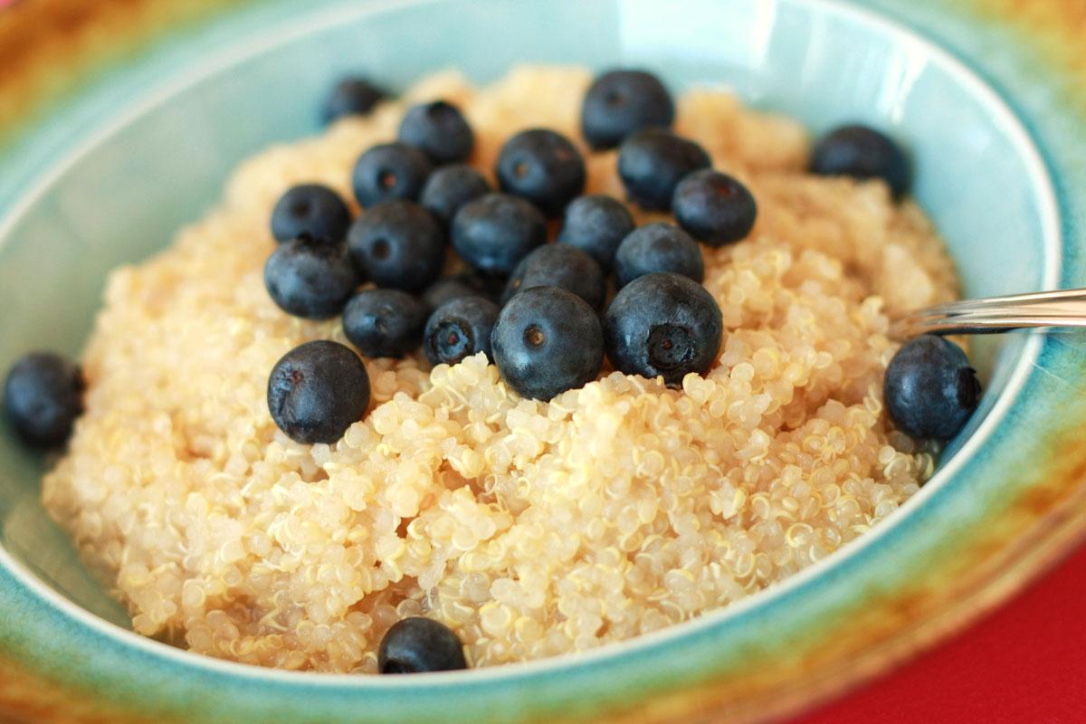 Blueberry Maple Quinoa