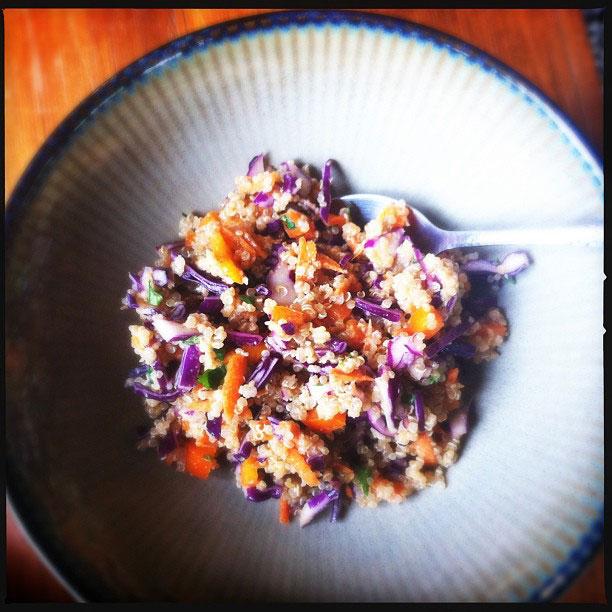 Thai Quinoa Salad with Peanut