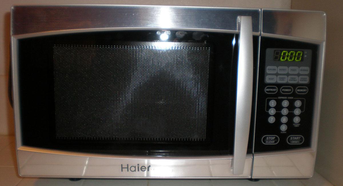 Quinoa in microwave