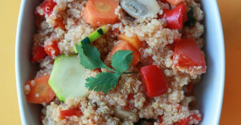 Spicy Veggie Quinoa