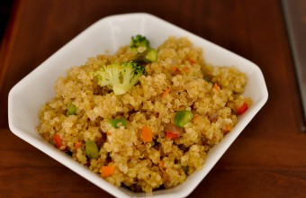 Stir Fried Quinoa with Veggies
