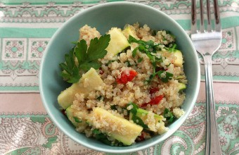 Quinoa Fresh Simple Lunch