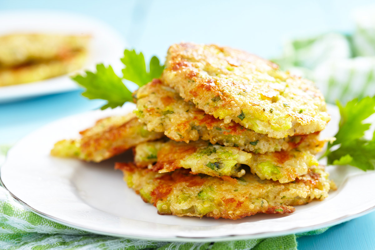 Quinoa and Potato Pancakes