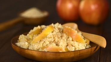 Cinnamon Apple Quinoa Porridge