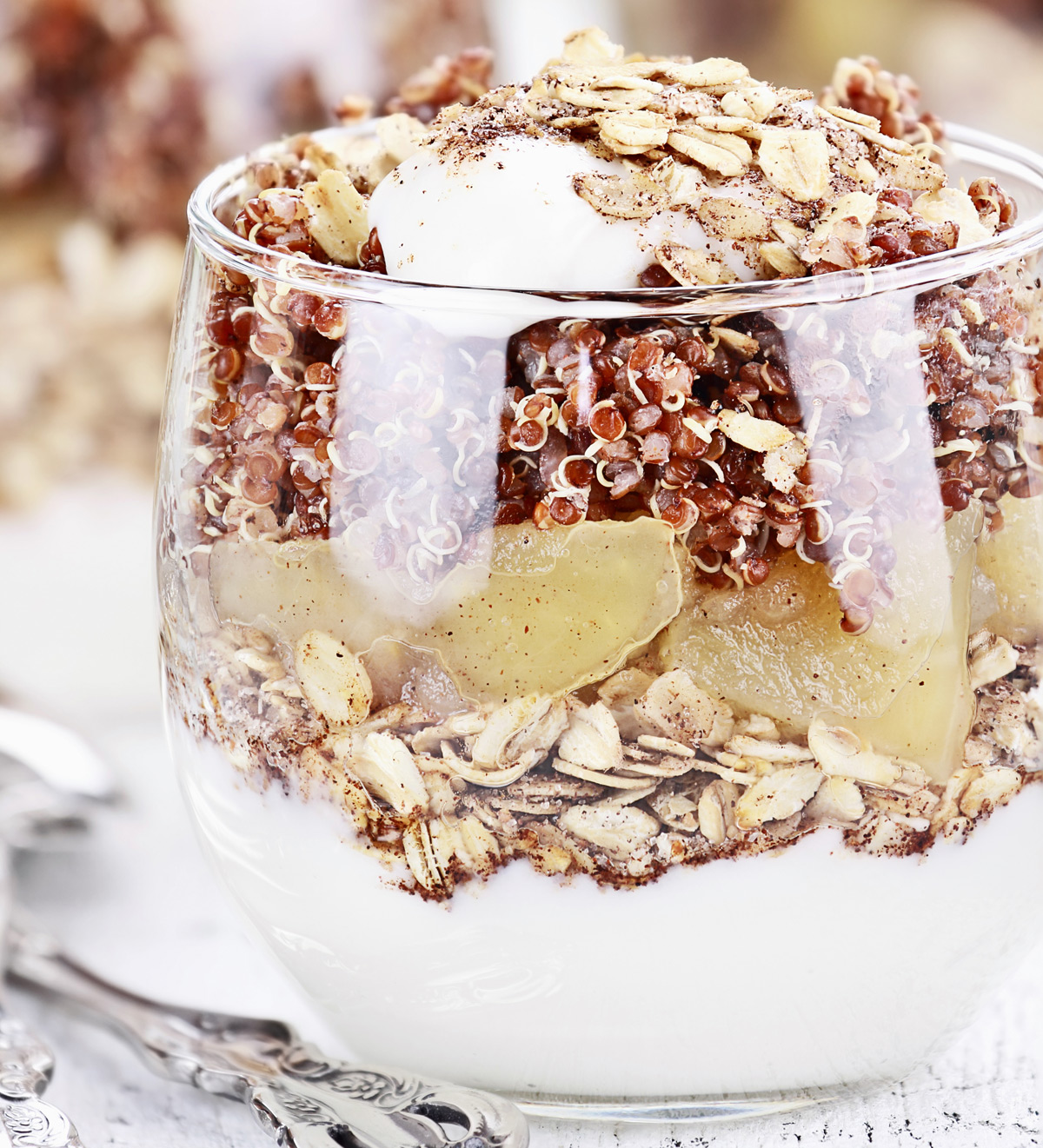 Four Layer Quinoa Parfait