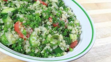 Quinoa Tabblouleh